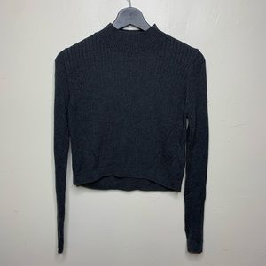 Topshop Crop Turtleneck Sweater